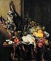 Abraham Hendricksz. van Beyeren - Pronkstillleven with Fruit and Fowl - Google Art Project.jpg
