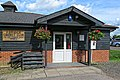 Abridge Cricket Club pavilion in Abridge, Essex England 1.jpg