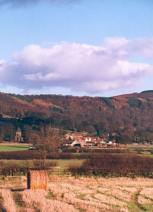Hambleton - View of the Hambleton Hills and Cowesby