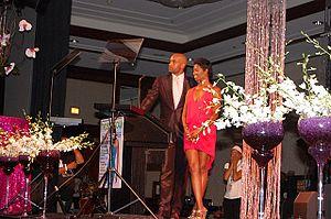 Vanessa A. Williams - Williams with Boris Kodjoe in 2011