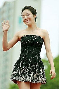 Actress Lee Si-won arrives at the red carpet event of the Pifan in Bucheon on July 17, 2014.jpg