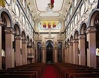 Addis abeba, chiesa della trinità, interno, 01.jpg