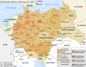 Administrative divisions of Germany, February 1944.png