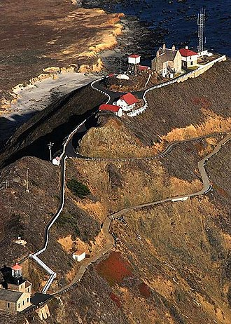 Point Sur Lighthouse - 2008 Aerial Photo