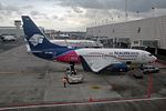 """AeroMexico Boeing 737-752 XA-AGM """"CDMX Ciudad de Mexico"""" logo (23224656956).jpg"""