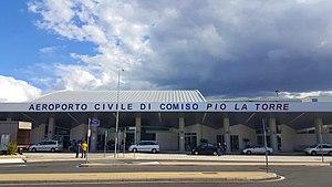 Comiso Airport - Image: Aeroporto di Comiso