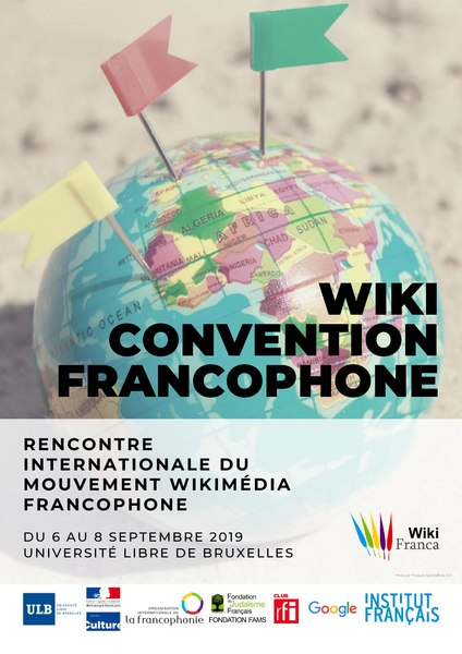 Affiche A2 de la WikiConvention Fr 2019