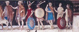 Agios Athanasios, Thessaloniki - Image: Agios Athanasios 1 fresco