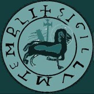 Knights Templar Seal - Image: Agnus dei seal Artistic representationi