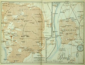 Ahmedabad - Ahmedabad and its environs, ca 1914