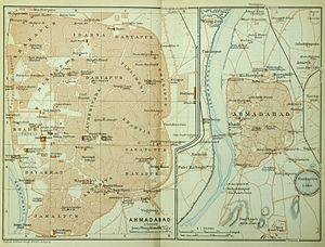 Ahmedabad (Baedeker, 1914)