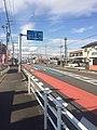 Aichi Prefectural Road Route 29 in Kanie town.jpg