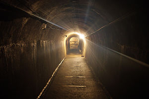 Kleines Berlin - One of the tunnels