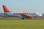 Airbus A319-111 'G-EZDF' Easyjet (40066365780).jpg