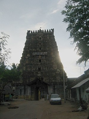 Aiyarappar temple - Image: Aiyarappar koyil in Thiruvaiyaru