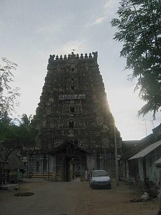 Thiruvaiyaru - Image: Aiyarappar koyil in Thiruvaiyaru