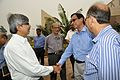 Ajoy Ray Shakes Hands with Kozimuttam Ganapathy - MSE Golden Jubilee Celebration - Science City - Kolkata 2015-11-17 5157.JPG