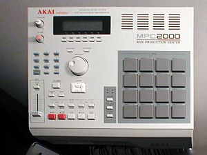 Music Production Controller - Akai MPC2000