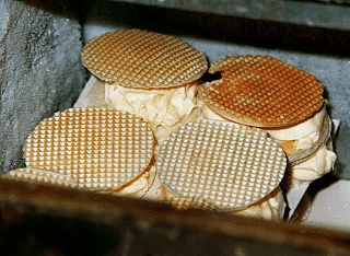 Wafer Thin type of biscuit