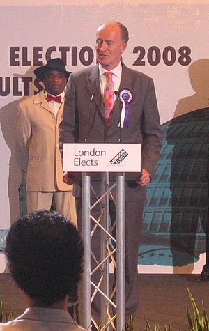 Christian Peoples Alliance - Alan Craig standing for London mayor in 2008.