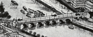 Albany Street Bridge - The bridge in 1910