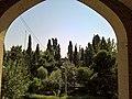 Alborz HighSchool GardenViewFromInside Tehran Iran.jpg