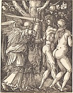 Albrecht Dürer, The Expulsion from Paradise, 1510, NGA 6752.jpg