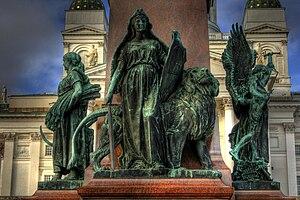 Walter Runeberg - Alexander II Monument, Senate Square, Helsinki