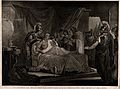 Alexander the Great, demonstrating his trust in his physicia Wellcome V0016257.jpg