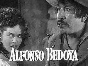 Alfonso Bedoya - With Dona Drake, in Fortunes of Captain Blood (1950)