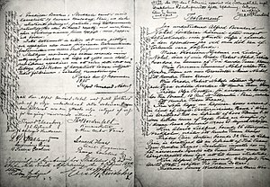 Nobel Foundation - Alfred Nobel's will from 25 November 1895