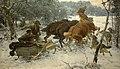 Alfred Wierusz-Kowalski - Napad wilków.jpg