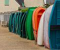 Alignement d'annexes, Conleau, golfe du Morbihan, France.jpg