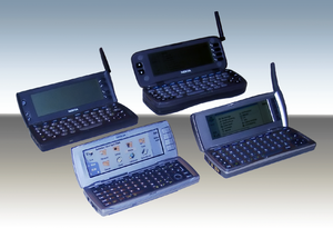 Nokia Communicators from the 9000 series, from...