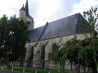 Allery - Image: Allery église 1