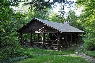 Allis State Park - Image: Allis SP CCC Picnic Pavilion