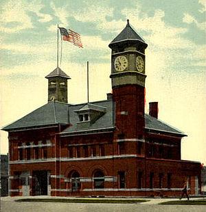 Alma, Michigan - Alma City Hall