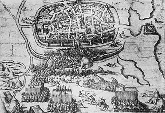 Alkmaar - Battle of Alkmaar 1573.