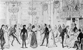 Almack's - London's high society at Almack's.