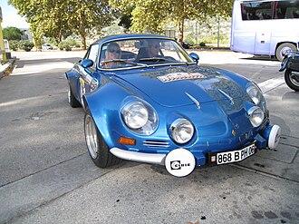 Alpine (automobile) - Alpine A110 Berlinette Group 4 (1971–1974).