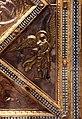 Altare di s. ambrogio, 824-859 ca., lato dx dei maestri delle storie di cristo, angeli e santi che adorano la croce gemmata 12.jpg