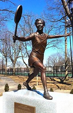 Althea Gibson statue