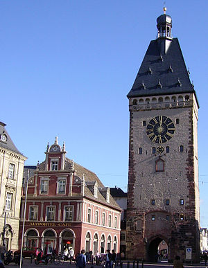 Old Gate (Speyer) - View from west