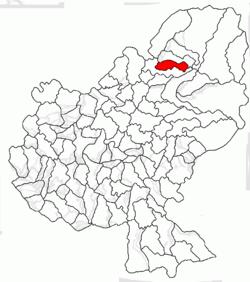 Vị trí của Aluniș
