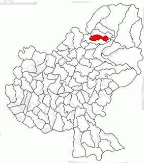 Aluniș, Mureș Commune in Mureș, Romania