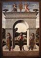 Alvise vivarini, arco trionfale del doge niccolò tron, dal palazzo ducale.JPG