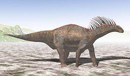 Počítačový model amargasaura