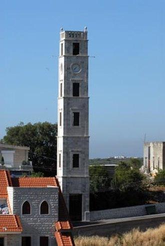 Amioun - Amioun Clock Tower