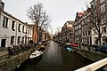 Amsterdam - Brug 227 - Staalstraat - View NNE along Groenburgwal towards Zuiderkerk 1611 I.jpg