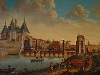 Charles William Ferdinand, Duke of Brunswick-Wolfenbüttel - Prussian forces entering Amsterdam in 1787